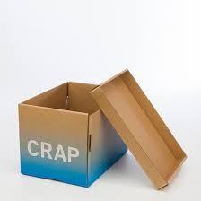 Caja para tirar todo lo que no vale - AorganiZarte