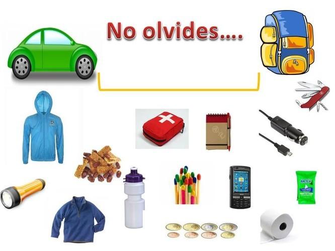 como prepararse para situaciones de urgencia en los desplazamientos -www.AorganiZarte.com