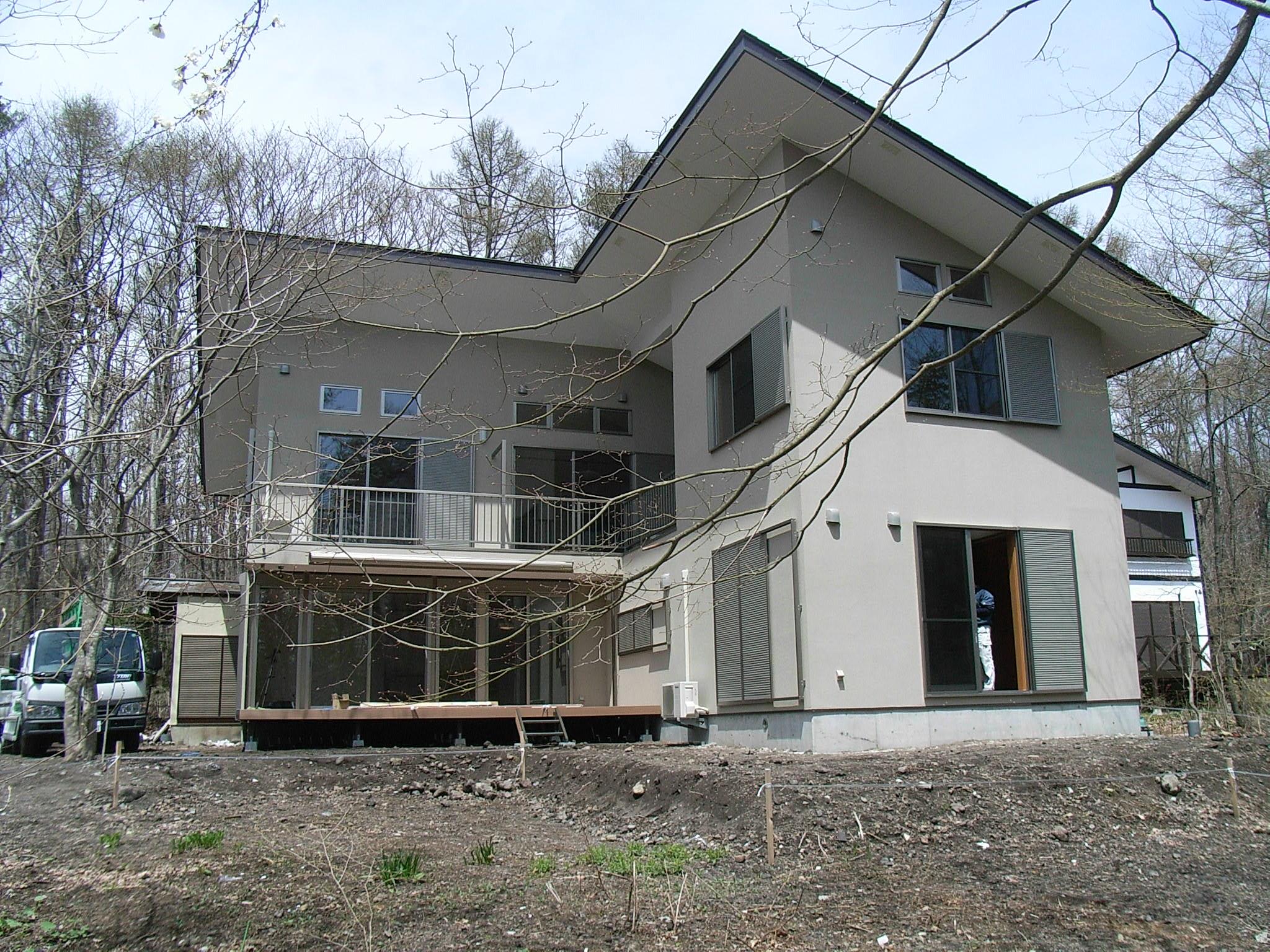 軽井沢別邸