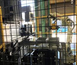 洗浄用ハンドリングロボット 全リング歯車適用