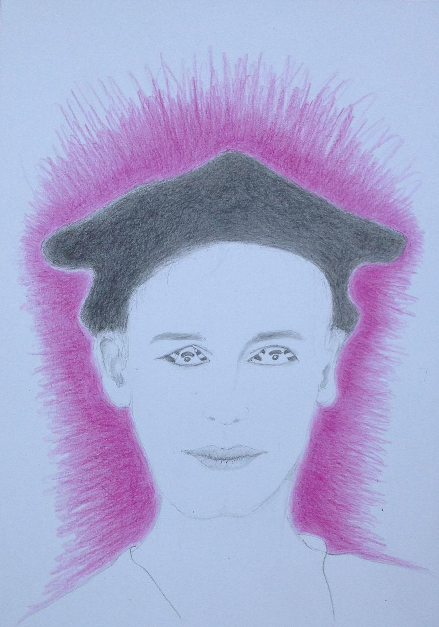 """""""Explosiv"""", 2017, Zeichnung, 21 x 15 cm (#924)"""