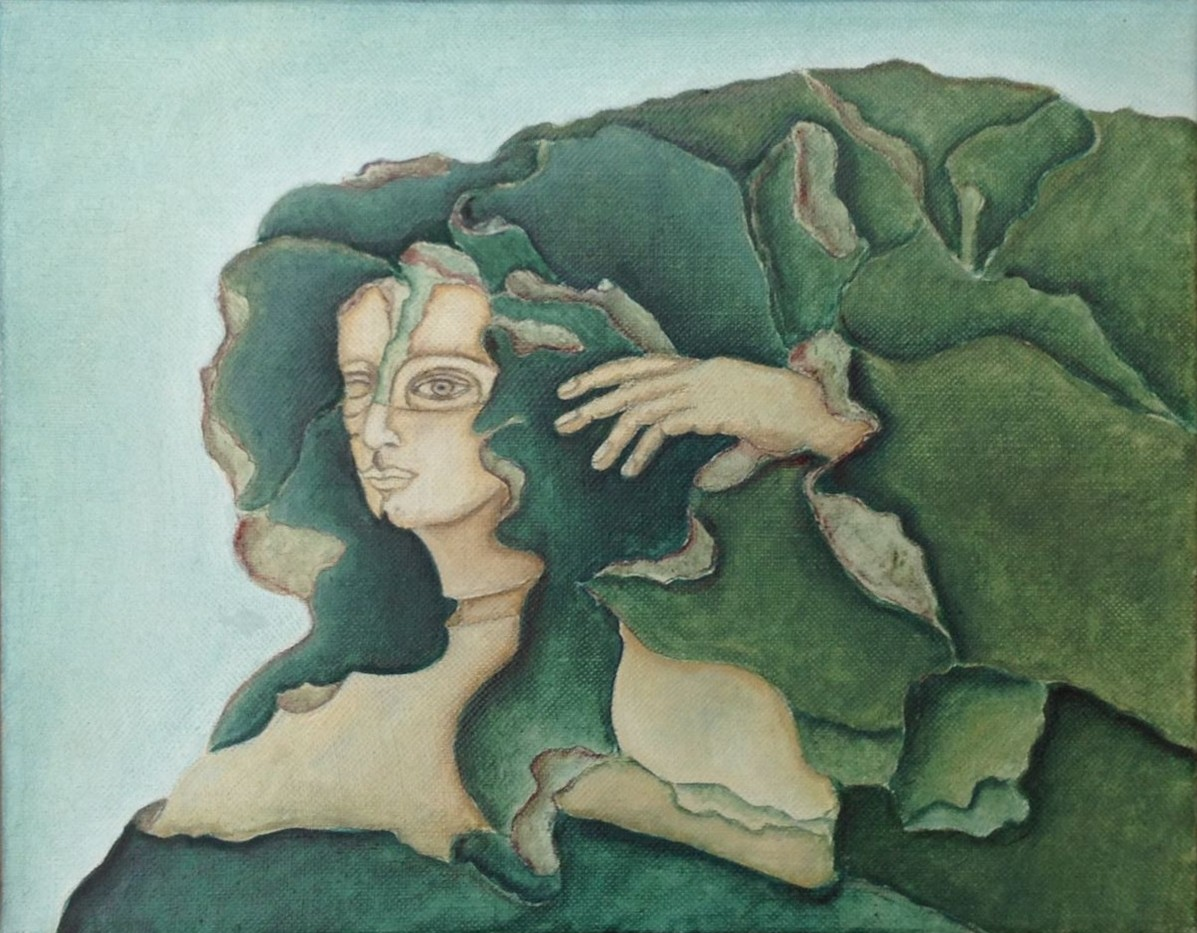 Tropica, Öl auf Leinwand, 25 x 30 cm, 1978 (#757)