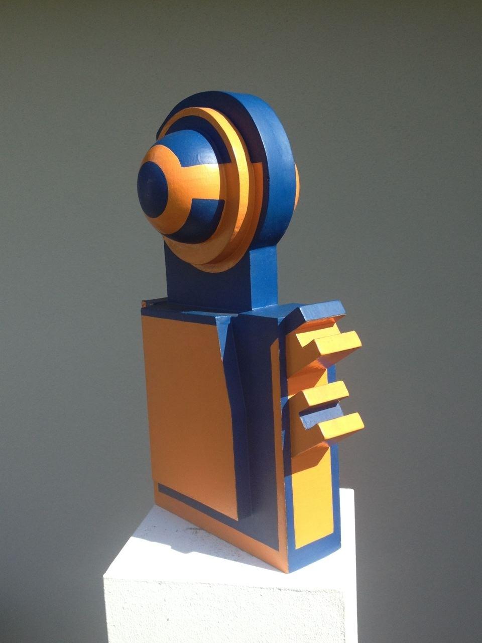 Kleinplastik, Holz/Lack, 43 x 25 x 14 cm, 1970 (#586)