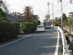 熊谷市内の旧中山道(p420)