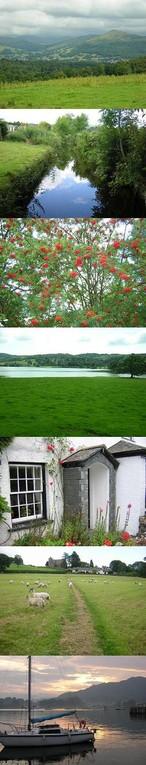 イギリス 湖水地方の風景