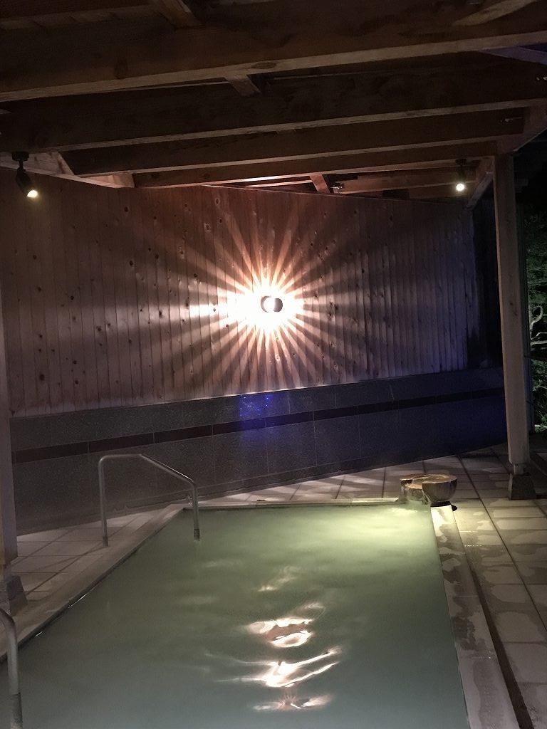 花月ハイランドホテルの露天風呂