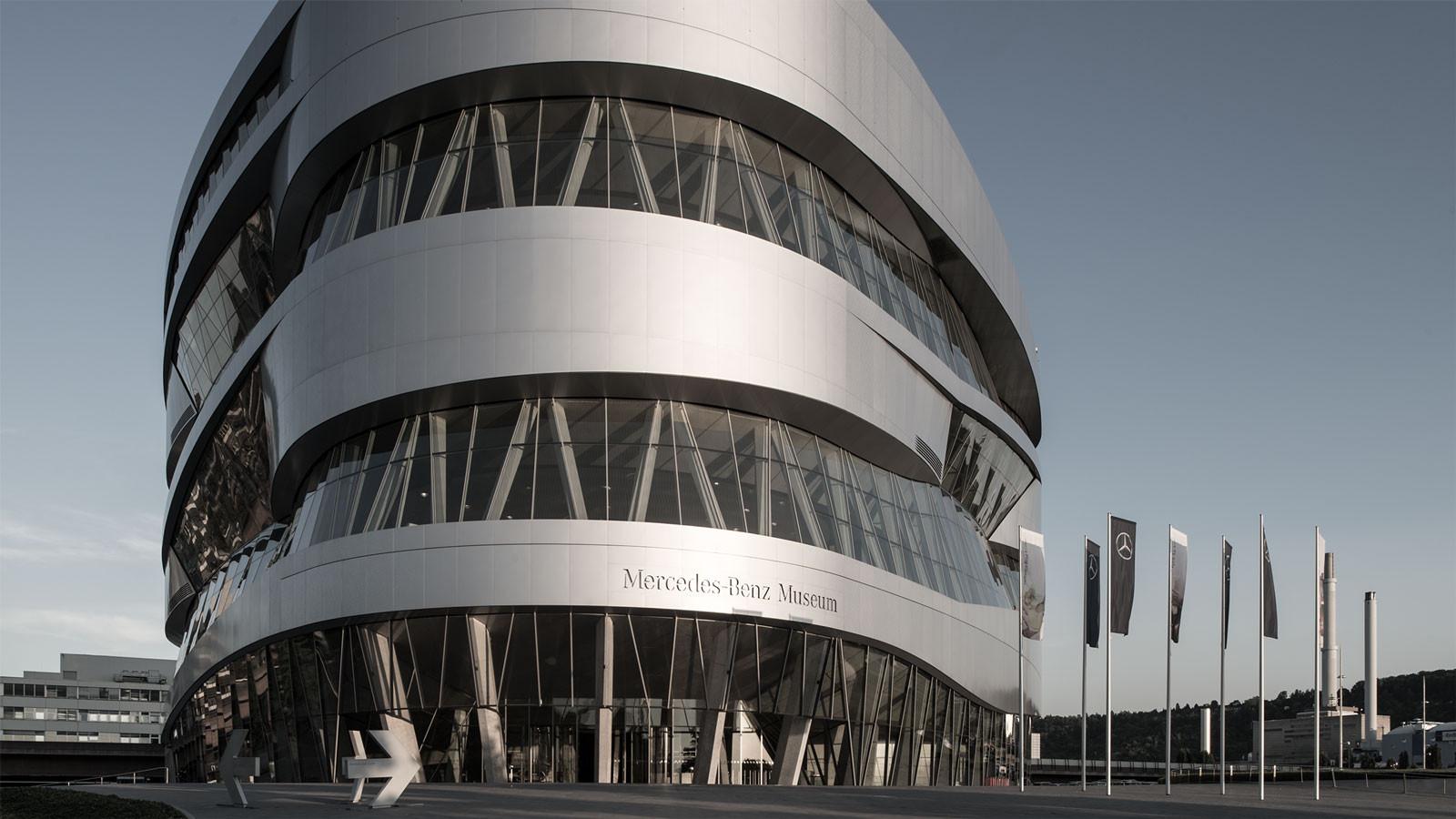 Architekturfotos Mercedes Benz Museum Architektur