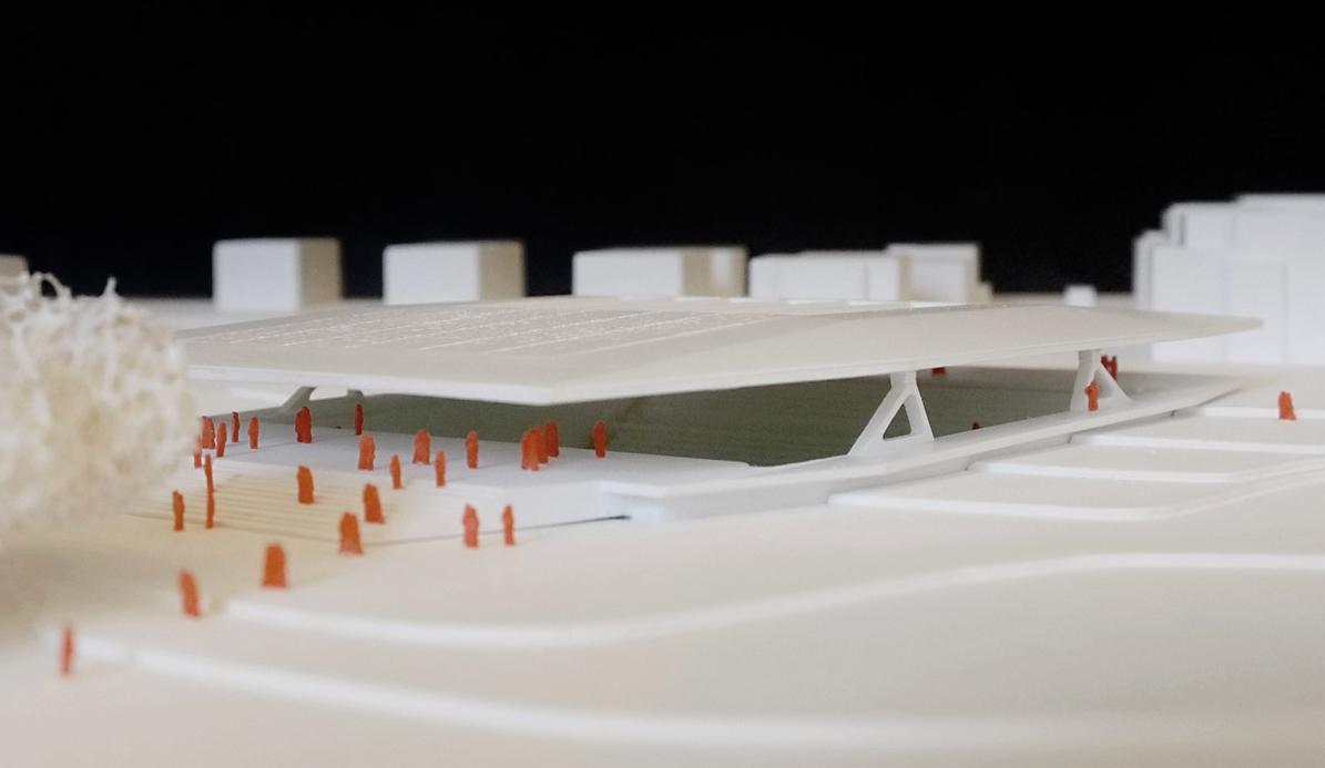 Ballsporthalle 2013 Bietigheim-Bissingen - Kohlmayer Oberst Architekten mit Hadi Teherani Architects - Umfang: Endmontage und Finish