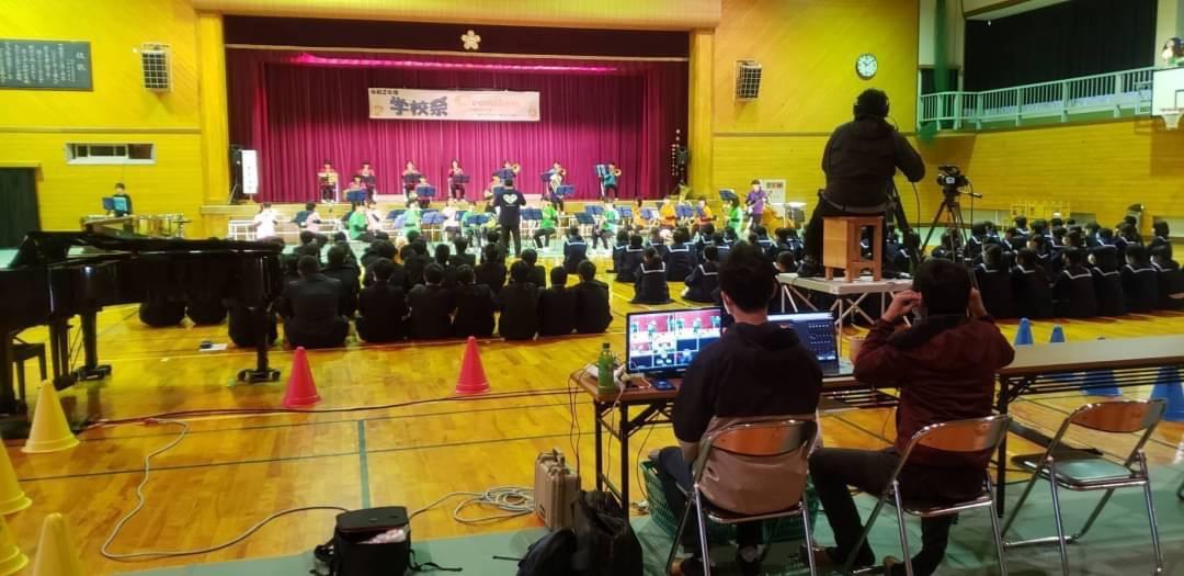 学校祭のステージ発表をYouTubeで生配信!(高岡西部中学校PTA)
