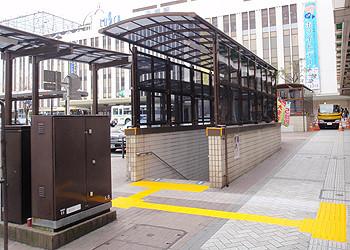 平塚駅北口広場上屋修繕