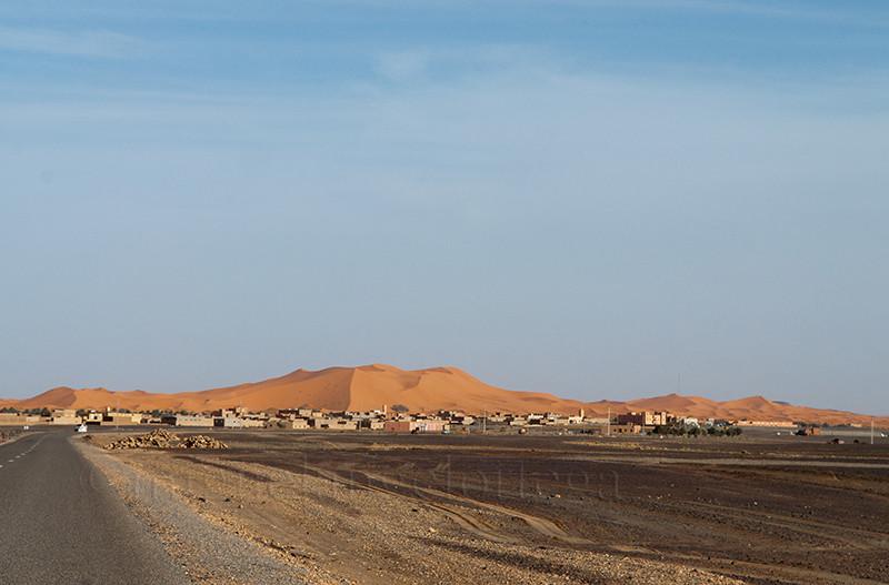 Marruecos, sur de Marruecos, fotografía de viajes, turismo, desierto, erg, entrada al desierto