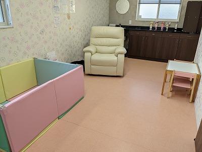 春日井市みやこ内科クリニックの家族連れ用の個室