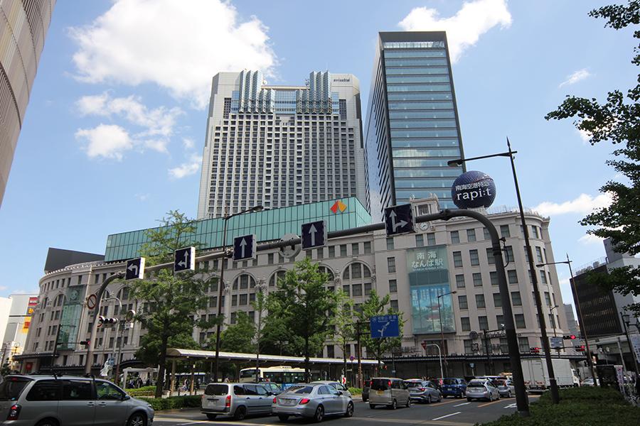 難波駅に商業ビル「なんばスカイオ」完成