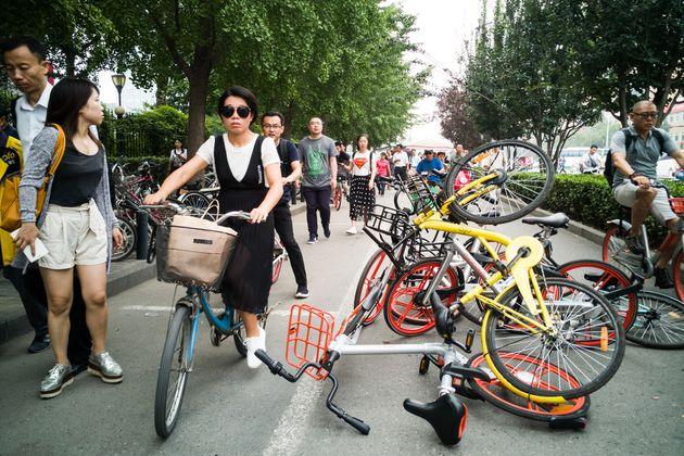 日本でもシエアー自転車 便利かも!