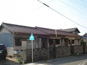 戦後の平屋の建物