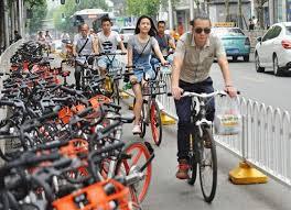 日本でも中国資本のシエアー自転車参入