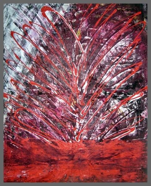 Acryl Mischtechnik 100 x 80 cm