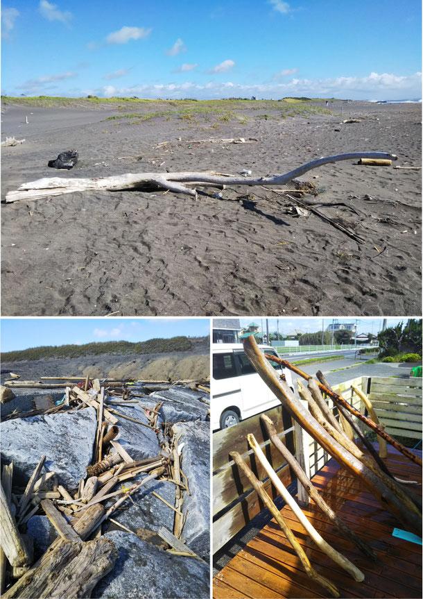 流木 廃材家具 古材家具 海を感じるサーフインテリア
