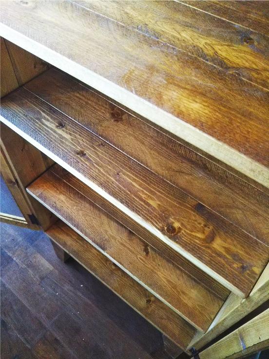 古材家具 カップボード