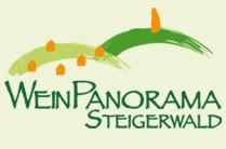 Zu den Seiten des Weinpanoramas Steigerwald