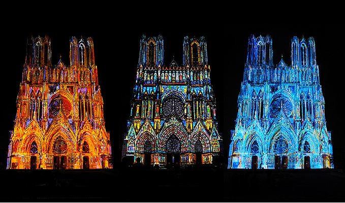 Cathédrale de Reims Rêve de Couleurs