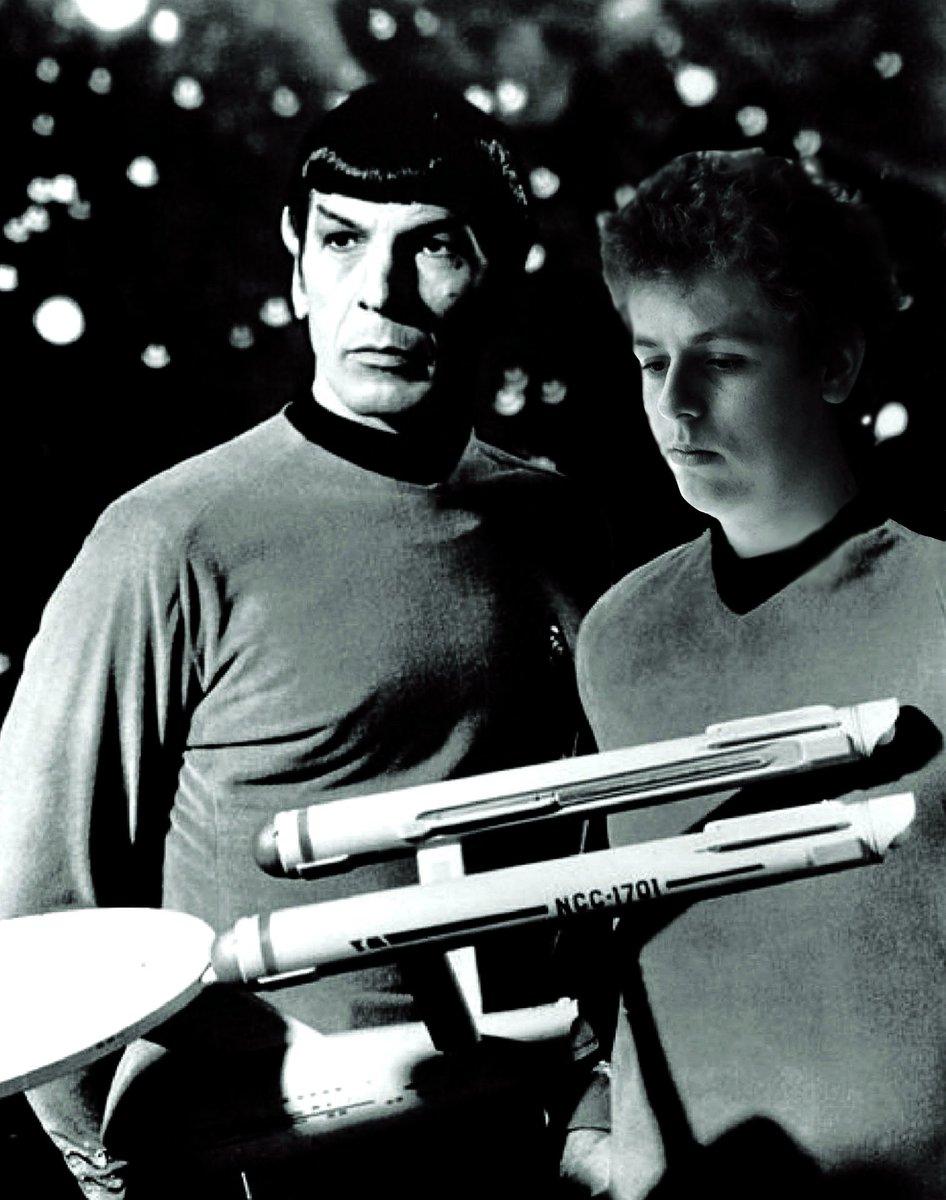 Ich und Commander Spock (Photoshop)