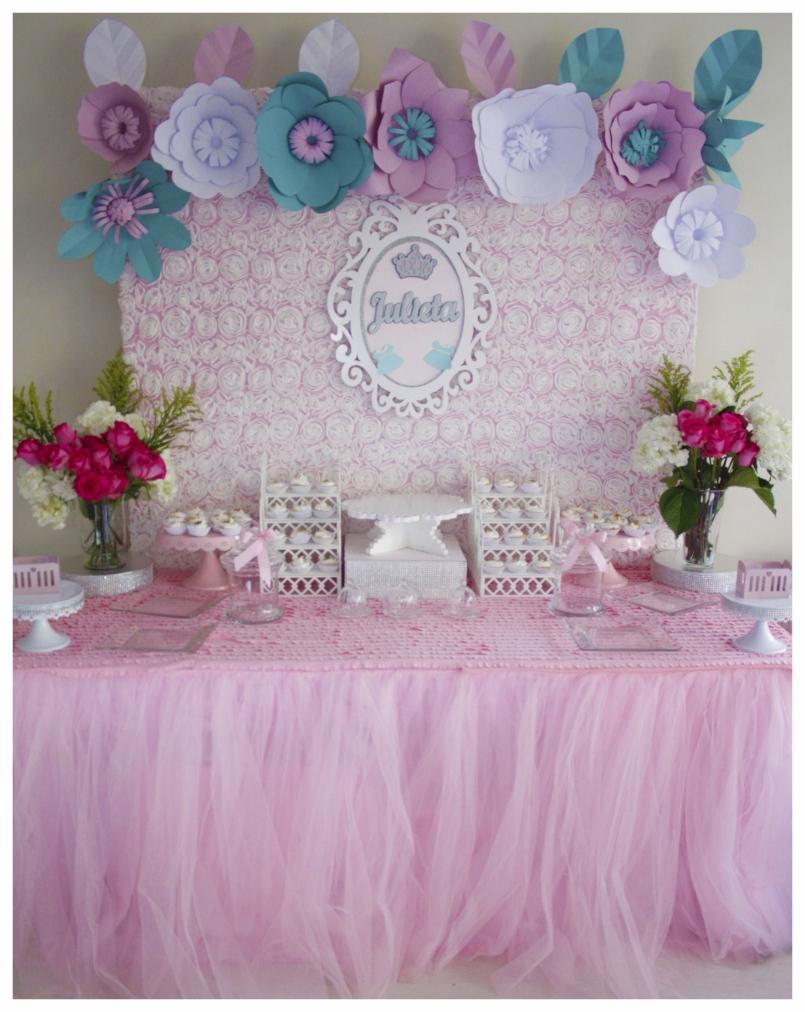Tematica De Baby Shower Nina.Decoracion Candy Bar Baby Shower Unpastiche Org