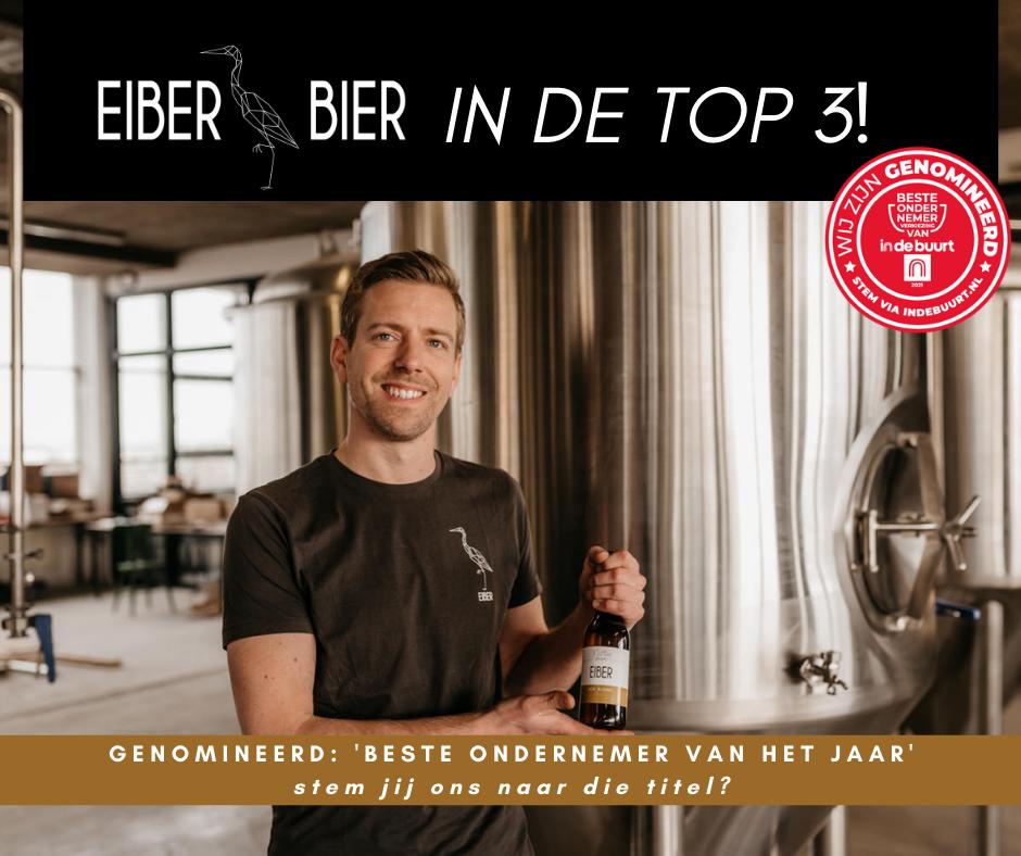 Beste ondernemer van het jaar in Den Haag: Eiber Bier genomineerd!