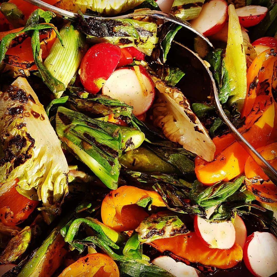 gegrillter Gemüsesalat  ALE-X-BBQ