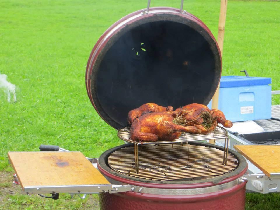 Heu Grillhändel Grillhuhn BBQ ale-x-bbq