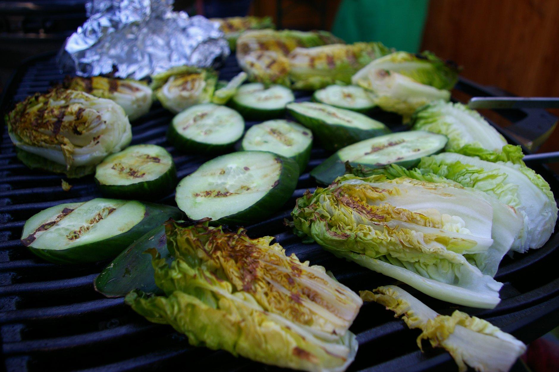 gegrilltes Gemüse ALE-X-BBQ