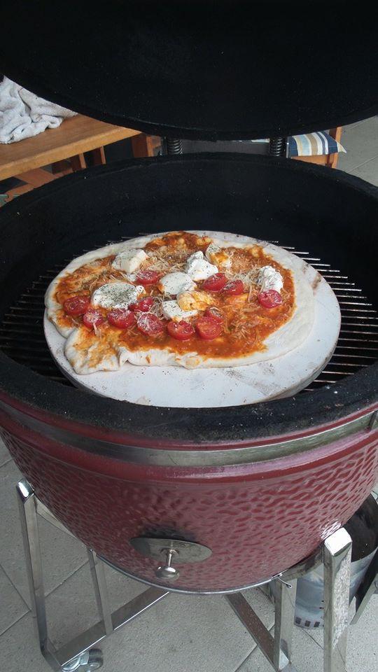 Pizza Monolith Gemüse ale-x-bbq