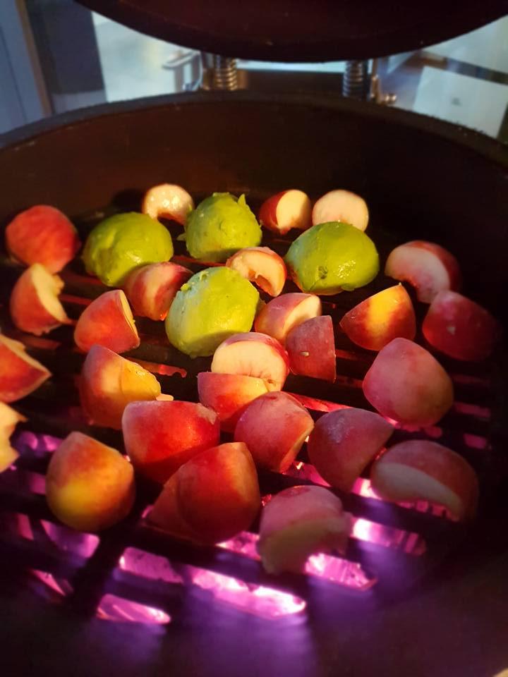 gegrilltes Obst  ALE-X-BBQ