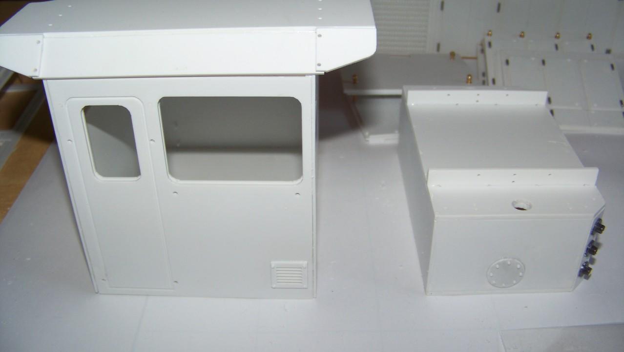 Führerhaus + Tank
