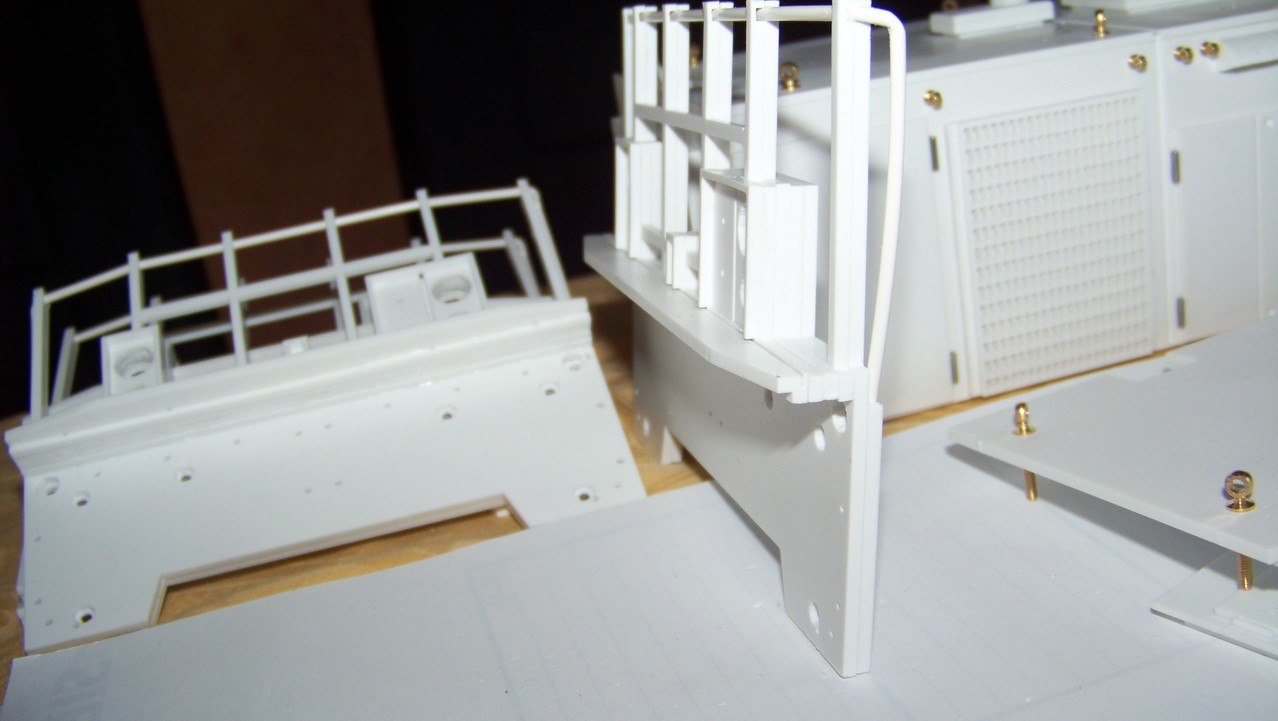 Frontseite mit Geländer