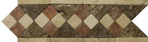 Cenefa de Travertino Dual, , moldura de travertino, precios de cenefa de travertino, precios de cenefas de mármol, decoración en travertino, molduras de mármol, molduras de travertino, mosaicos de mármol, mosaicos de travertino