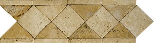 Cenefa de Travertino Quadrato, listelos de travertino, moldura de travertino, precios de cenefa de travertino, precios de cenefas de mármol, decoración en travertino, molduras de mármol, molduras de travertino, mosaicos de mármol, mosaicos de travertino