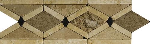 Cenefa de Travertino Artic, listelos de travertino, moldura de travertino, precios de cenefa de travertino, precios de cenefas de mármol, decoración en travertino, molduras de mármol, molduras de travertino, mosaicos de mármol, mosaicos de travertino