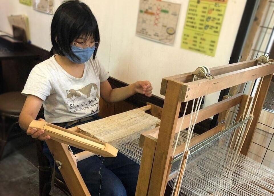 31団|葛(くず)布織り