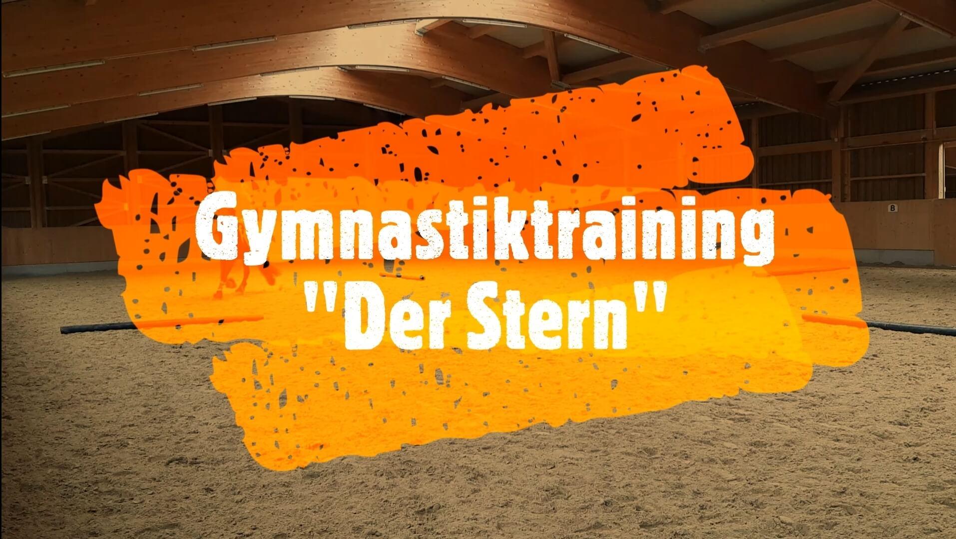 Gymnastiktraining: Der Stern