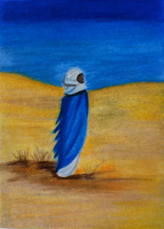 Blick in die Wüste (nach Thomas Martin)