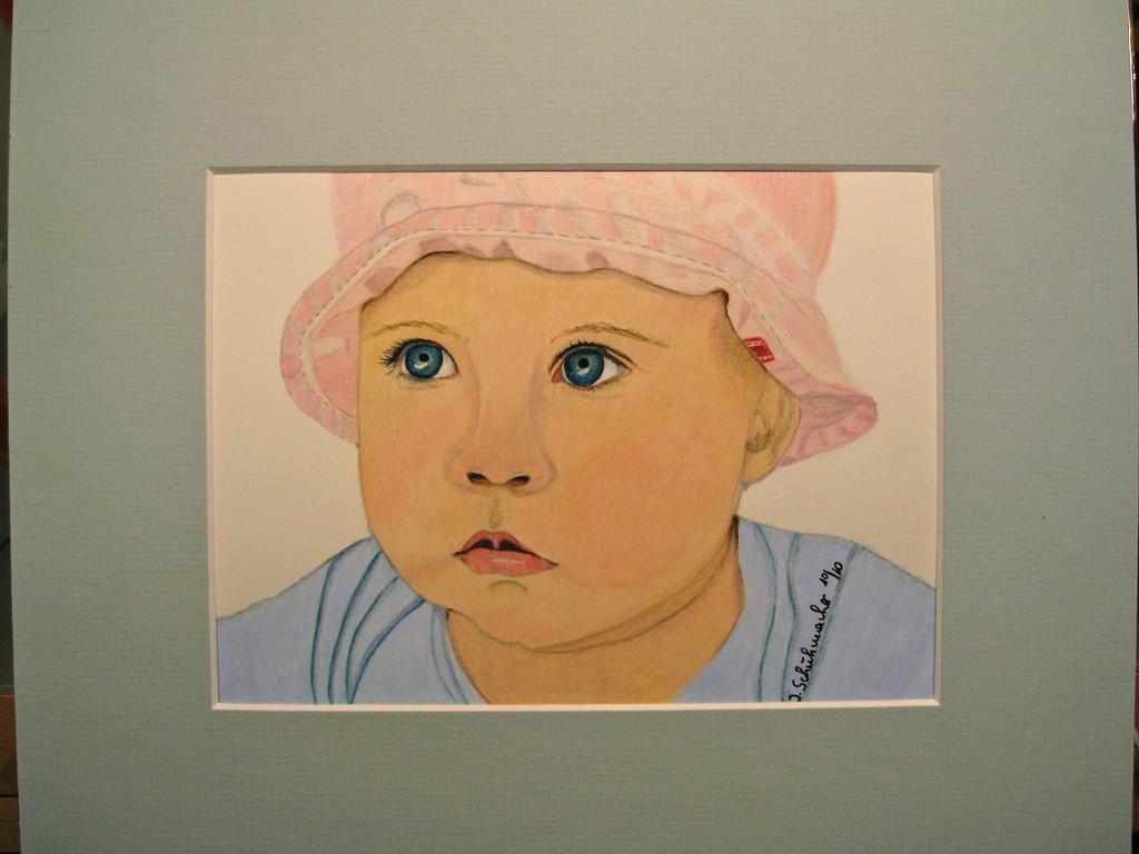 Babyportrait von Flori