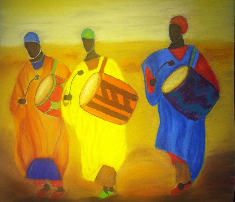 African  Drummer Boys