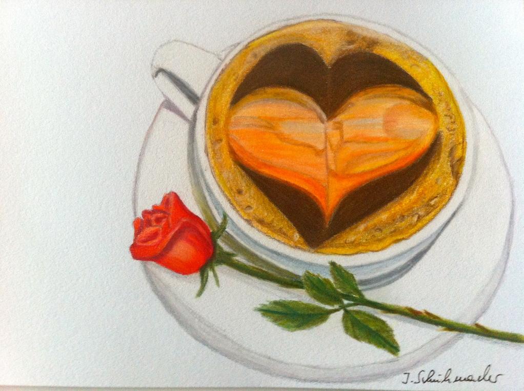 Herzkaffee nach einer Fotovorlage von MarlenD aus der FC