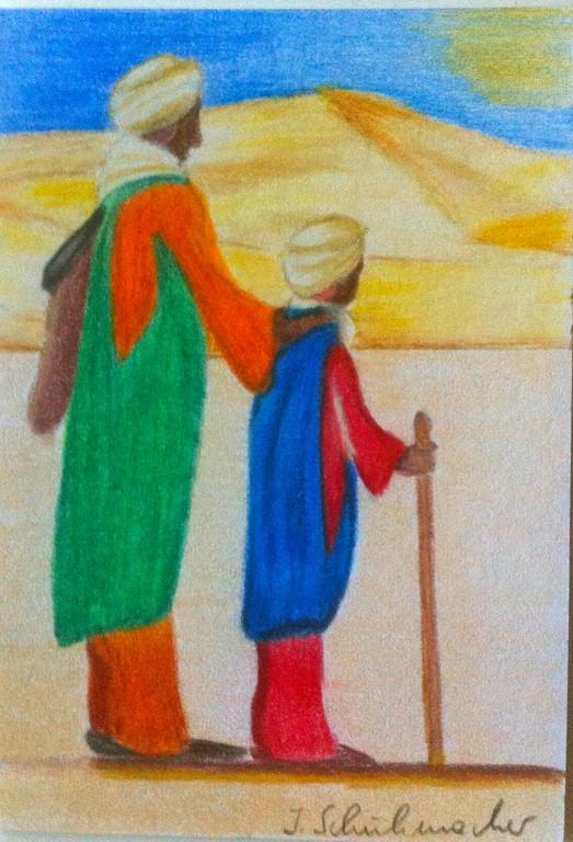 2 Beduinen