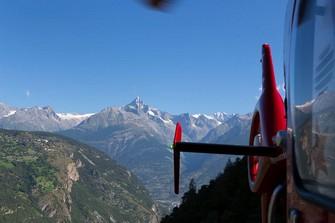 Air Zermatt und Bietschhorn