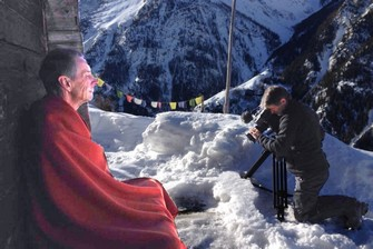 Schweizer Fernsehen beim Einsiedler-Mönch