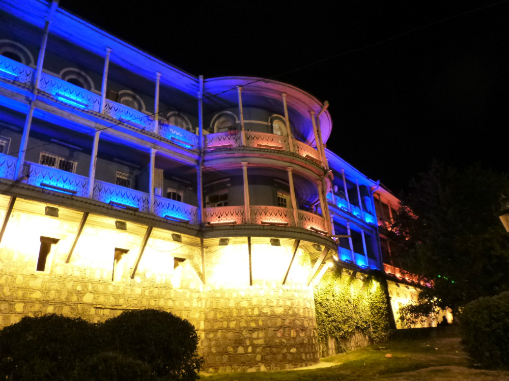 Tiflis by night