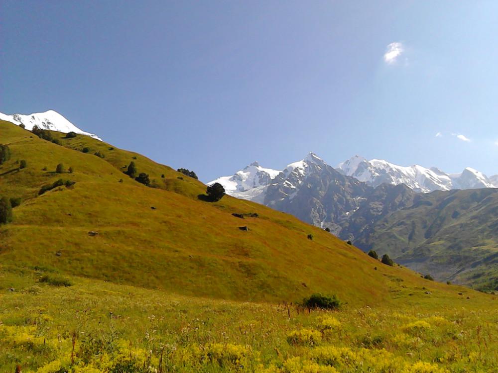 Bergwelt Kaukasus