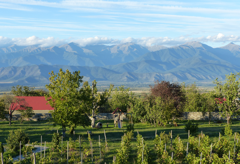 Blick auf den Kaukasus
